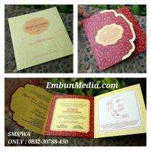 Undangan Cantik Potong Lengkung by Embun Media