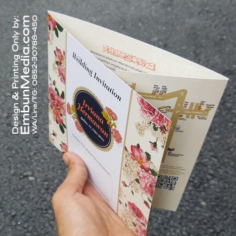 Undangan Pernikahan Murah Vintage Softcover by Embun Media