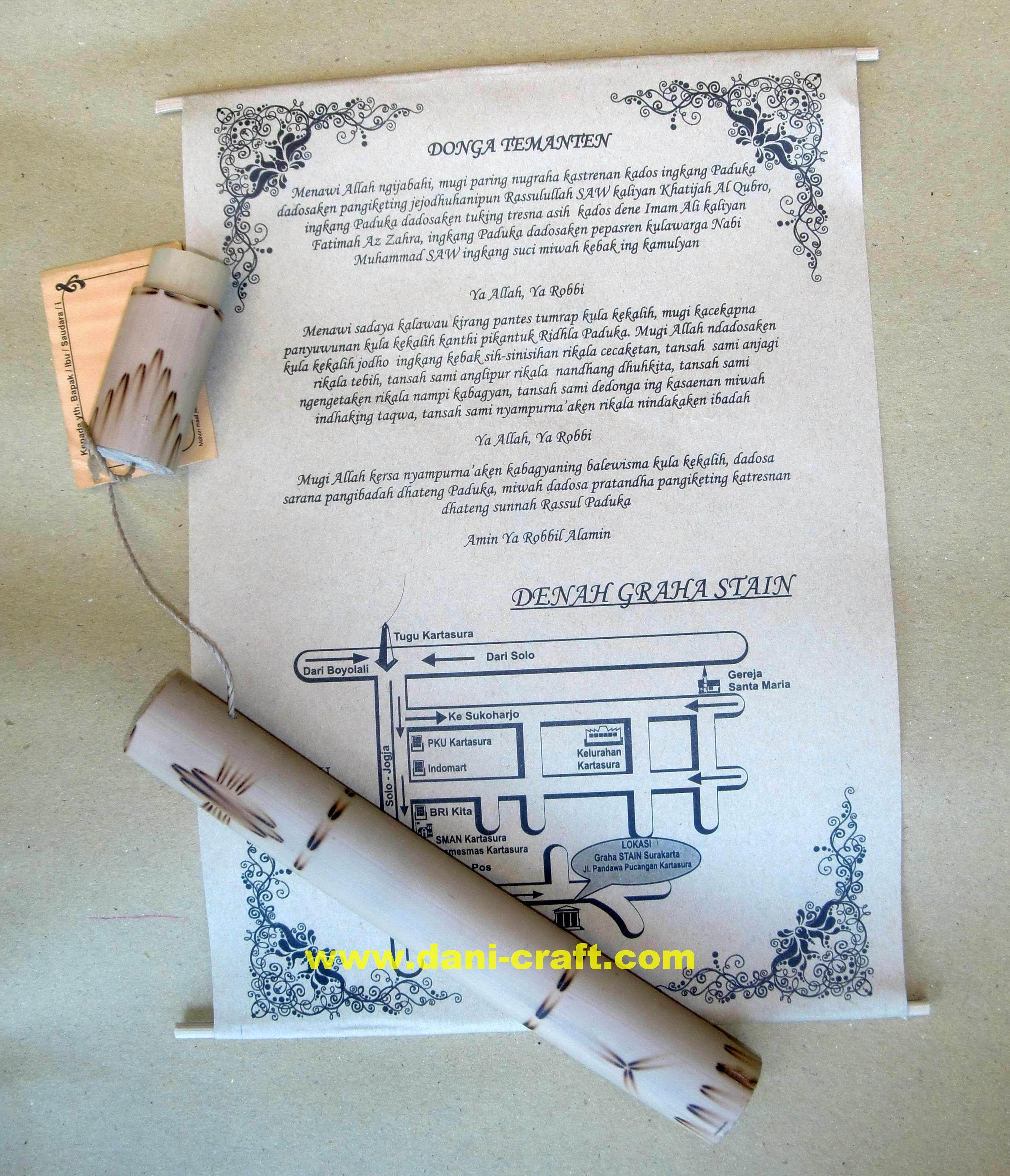 Undangan Jawa Undangan Pernikahan