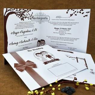 Contoh Undangan Nikah Tamasya Undangan Pernikahan