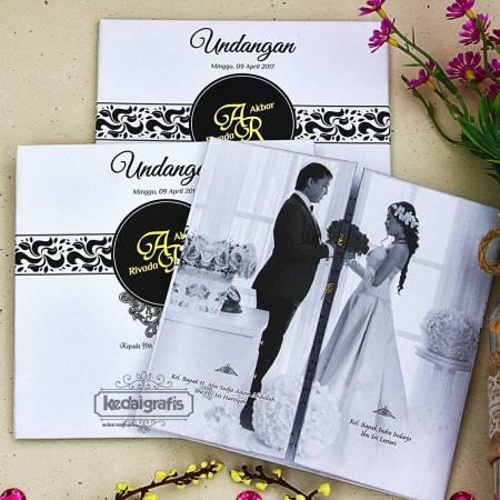 Undangan Nikah Tamasya Undangan Pernikahan Unik Kedai Grafis