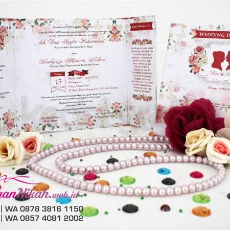 Contoh Undangan Nikah Tamasya Undangan Pernikahan Unik Kedai Grafis