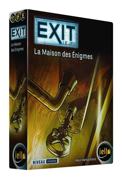 Sortie: EXIT - Le Jeu : La maison des Enigmes