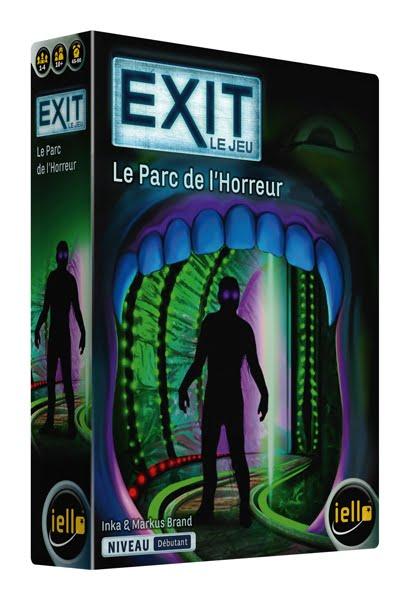 Sortie: EXIT - Le Jeu : le Parc de l'Horreur