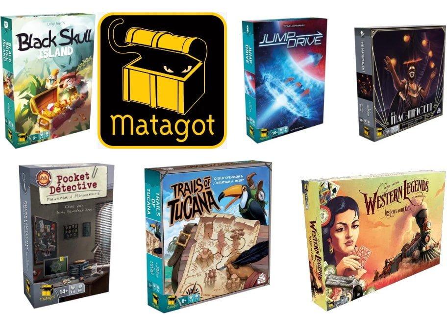 Prochaines sorties : Matagot #1 (juillet)