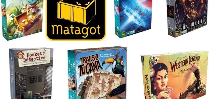 Prochaines sorties : Matagot