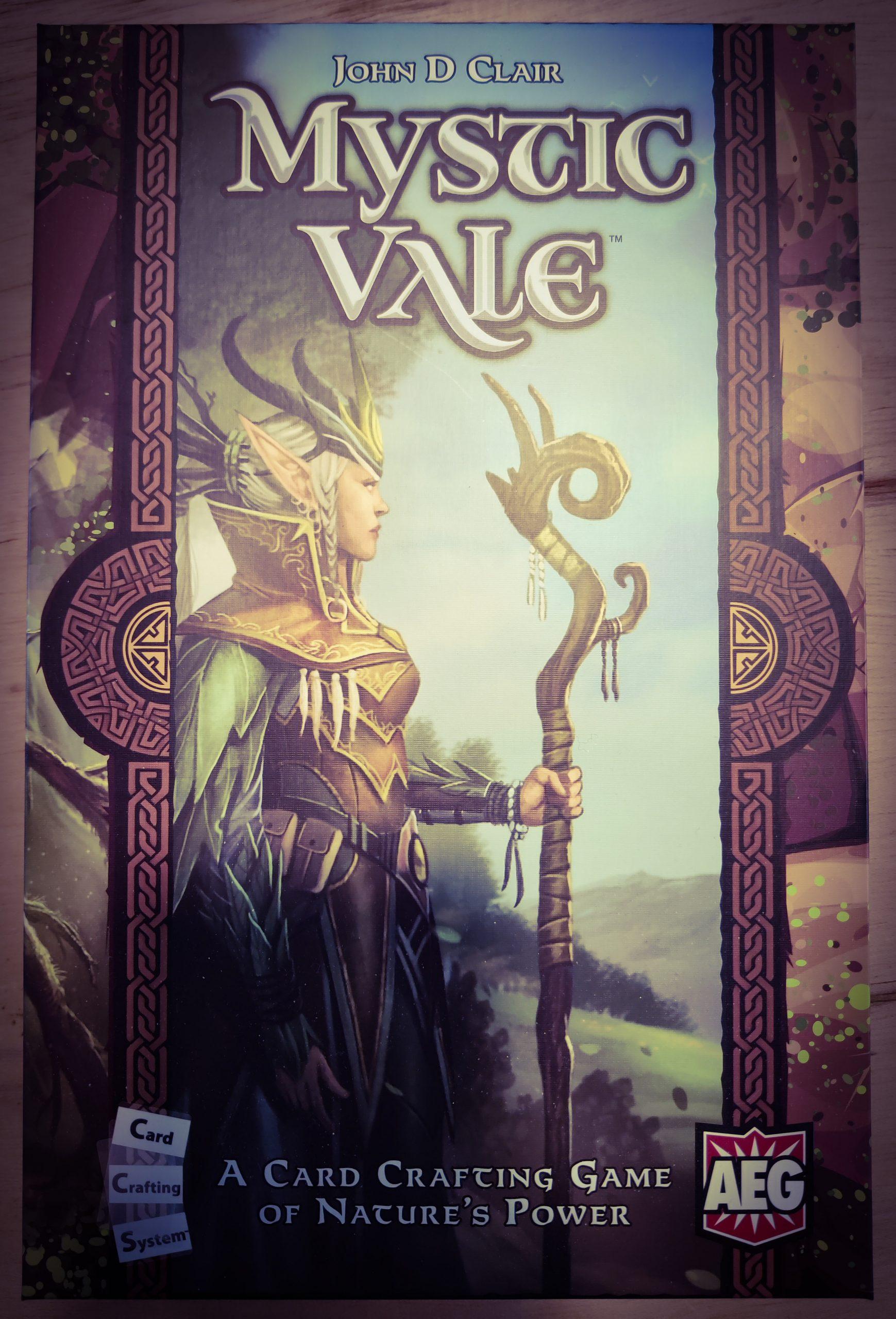 Mystic Vale, le jeu de card crafting