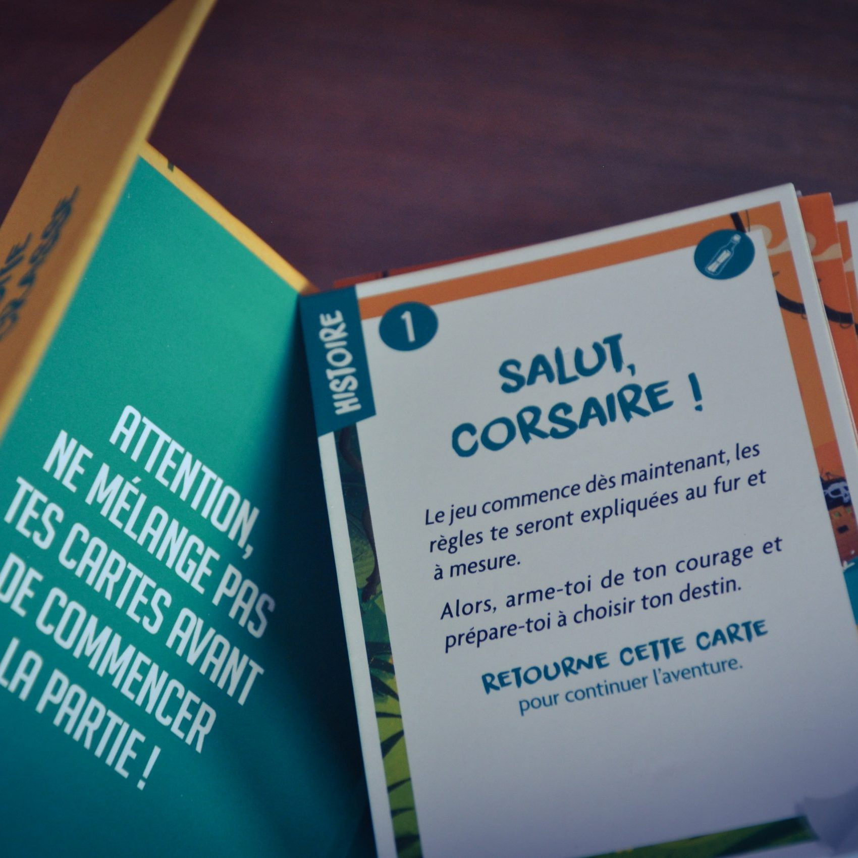 [Test] Héroï'cartes : A la poursuite de Barbe Crasse