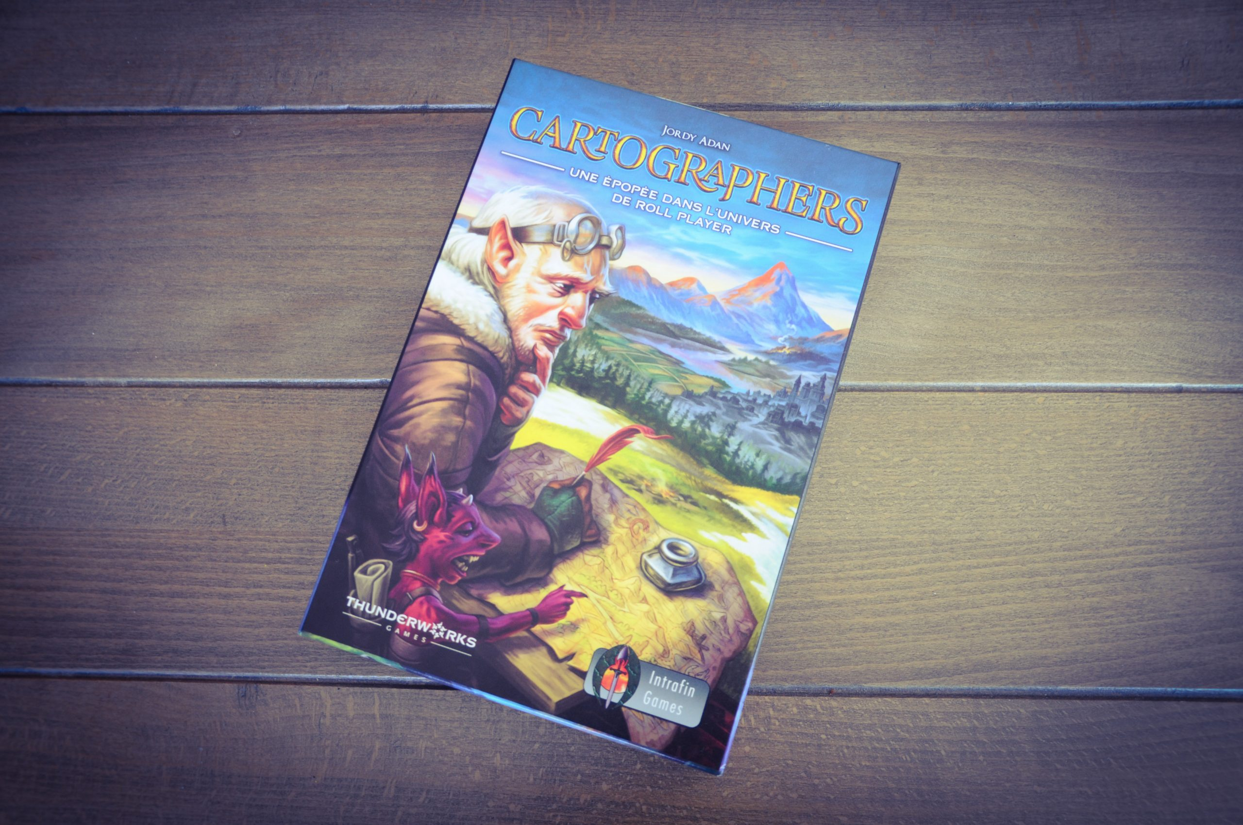 [Test] Cartographers, A Roll Player Tale. Attention à l'embuscade !