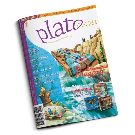 Plato Magazine, déjà 128 numeros et bientôt 15 bougies ludiques à souffler !