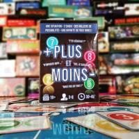[Ulule] PLUS et MOINS, le jeu d'ambiance qui révèle les personnalités ! Le Test.