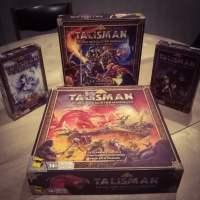 [Test/Extensions] Talisman 4ème édition et ses extensions La Faucheuse, Le Donjon, La Marche du Froid ... Le Med-Fan des années 80 est de retour !