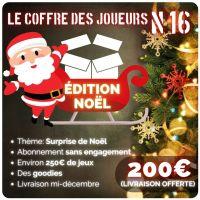 [Box] Le coffre des joueurs n°16, Edition de Noël