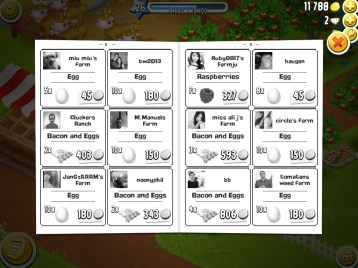 """""""The Farmers' Newspaper — HayDay Screen Capture courtesy of AainaA, of undecimus"""""""