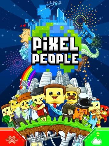 PixelPeople Colourful Splashpage