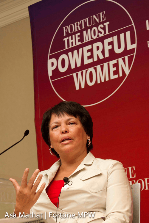 Debra Lee at the Fortune Most Powerful Women Summit