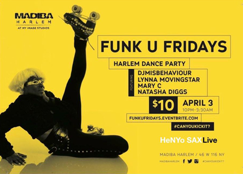 Funk U Fridays Harlem Dance and Skate Party at MIST Harlem