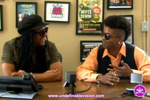 Maxi Priest talks with Tabou TMF on Undefinable Vision TV in New York City