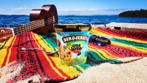 One Love Flavor Ice Cream