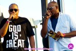 Dubbmaster Chris & Dahvey Levy at The Grace Jamaican Jerk Festival New York - Undefinable Vision