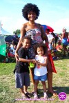 Empress and Children at The Grace Jamaican jerk Festival New York - Undefinable Vision