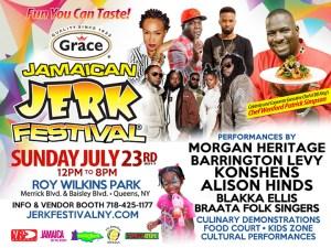 Grace Jamaican NYC Jerk Festival 2017