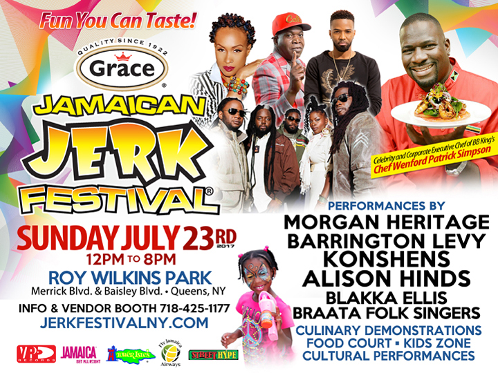 The Annual NYC Jerk Festival - Food Music & Fun