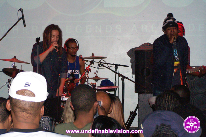 Undefinable Vision - Ghetto Youths International Set Up Shop Volume 2 Tour at SOB's in New York City