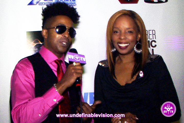 Tabou TMF and Rah Digga on the Red Carpet