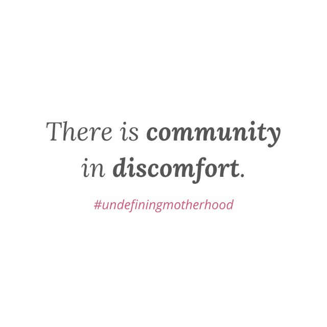 graphic-that-says-there-is-community-in-discomfort