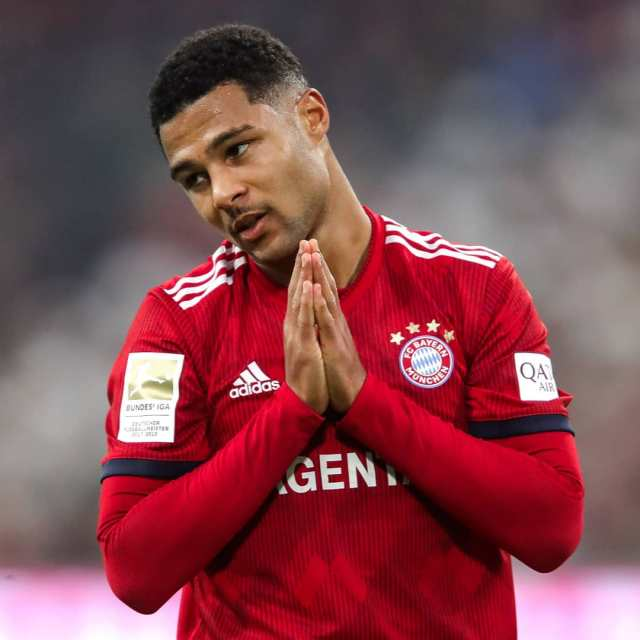 ? Serge Gnabry deleted a post in Instagram ☞ Undelete All World