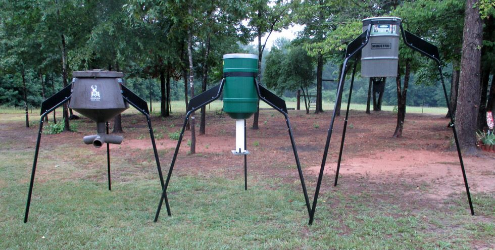 Where to set up the deer feeder