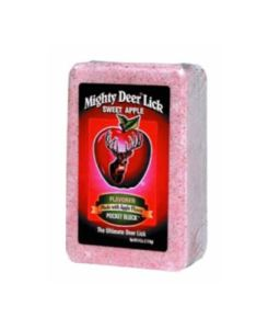 Mighty Deer Lick Sweet Apple Block