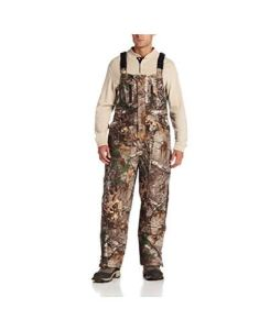 10X Men's Realtree Extra Waterproof Breathable Insulated Bib Overall