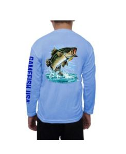 Long Sleeve Performance Bass Fishing Shirts