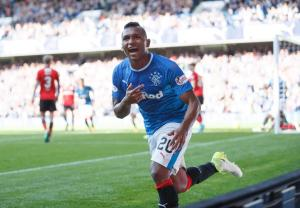 Bruce eyes up Rangers striker