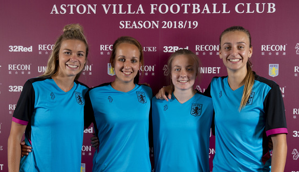 New Signings Aston Villa Ladies