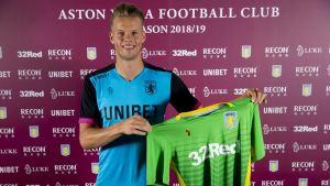 Orjan Nyland becomes Aston Villa's Third Summer Signing