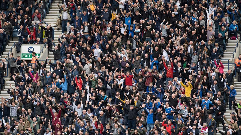 Preston North End Fans
