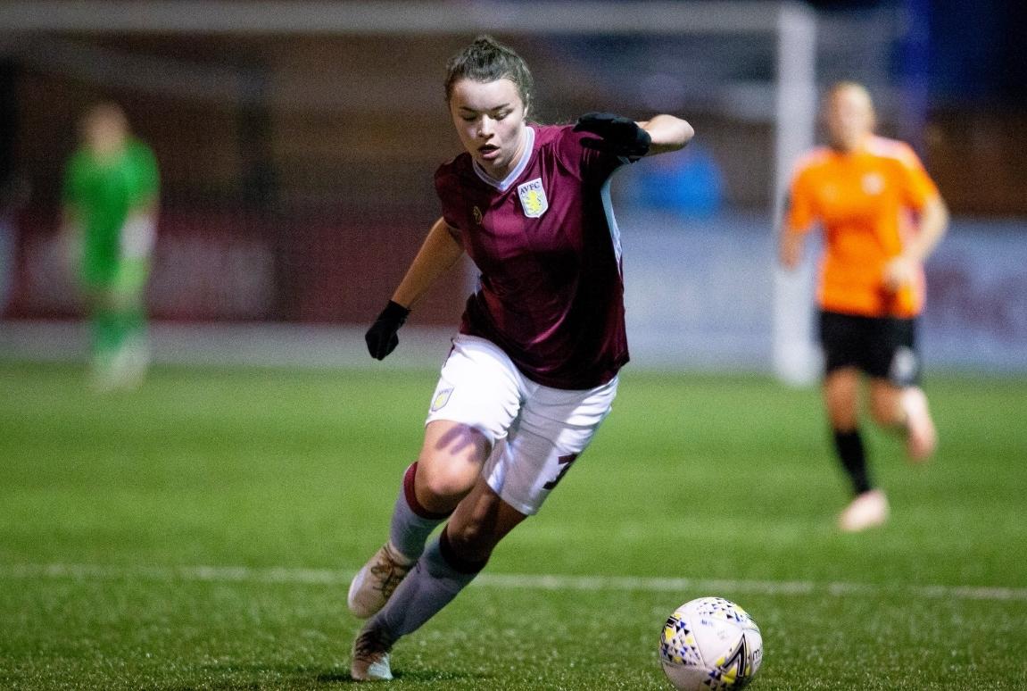 Aston Villa Ladies Jodie Hutton