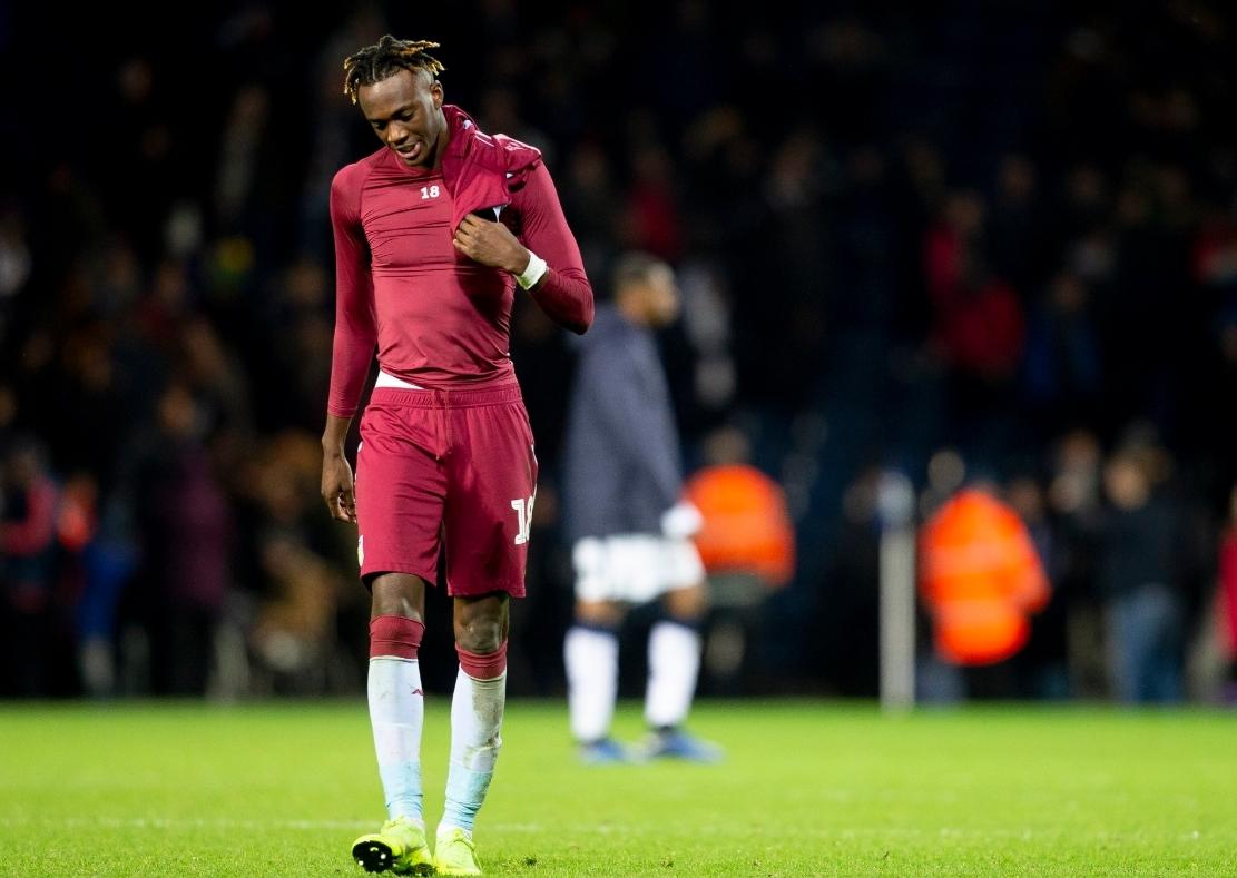 Tammy Abraham Aston Villa v West Bromwich Albion