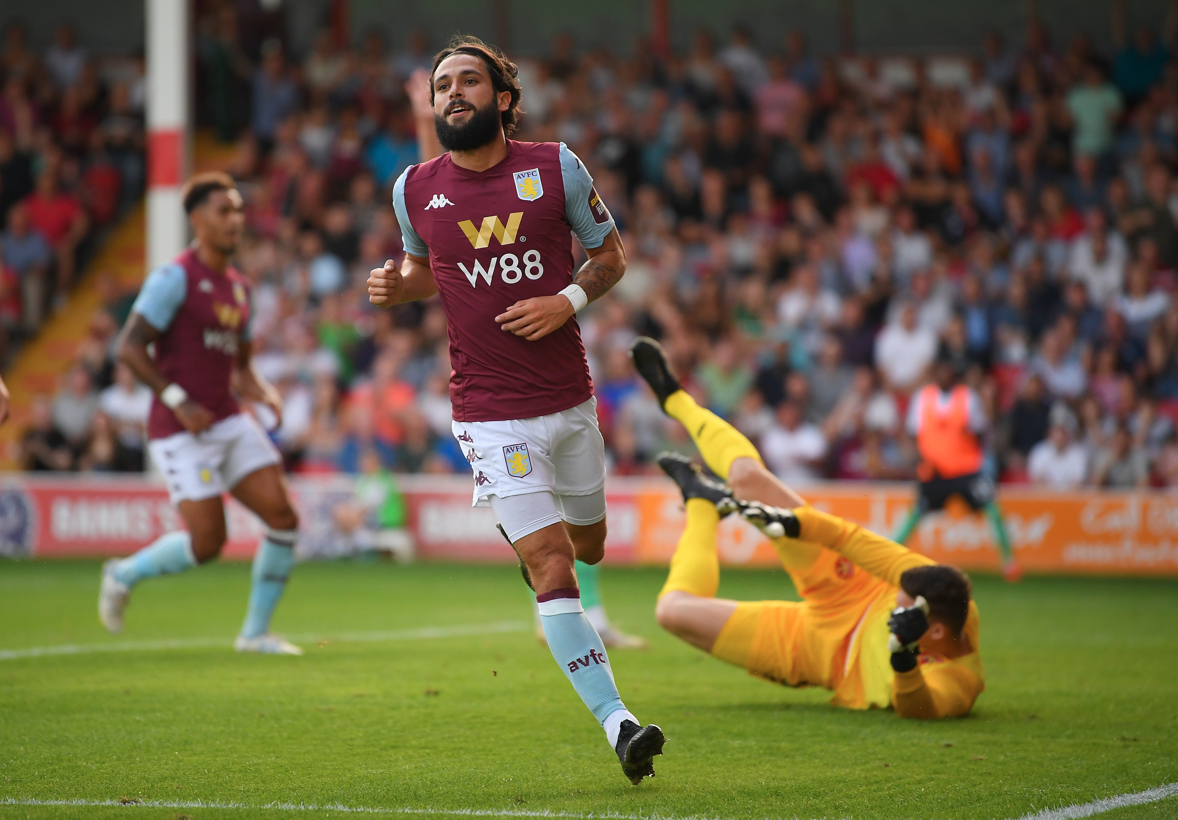 Jota Brace at Walsall Friendly for Aston Villa