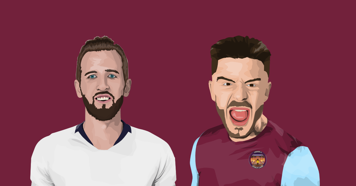 Harry Kane and Jack Grealish Spurs and Villa Preview