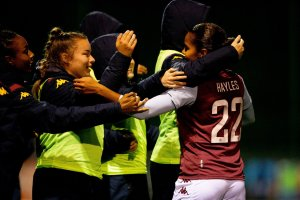 Shania Hayles is showing there's quality in depth at Villa Women
