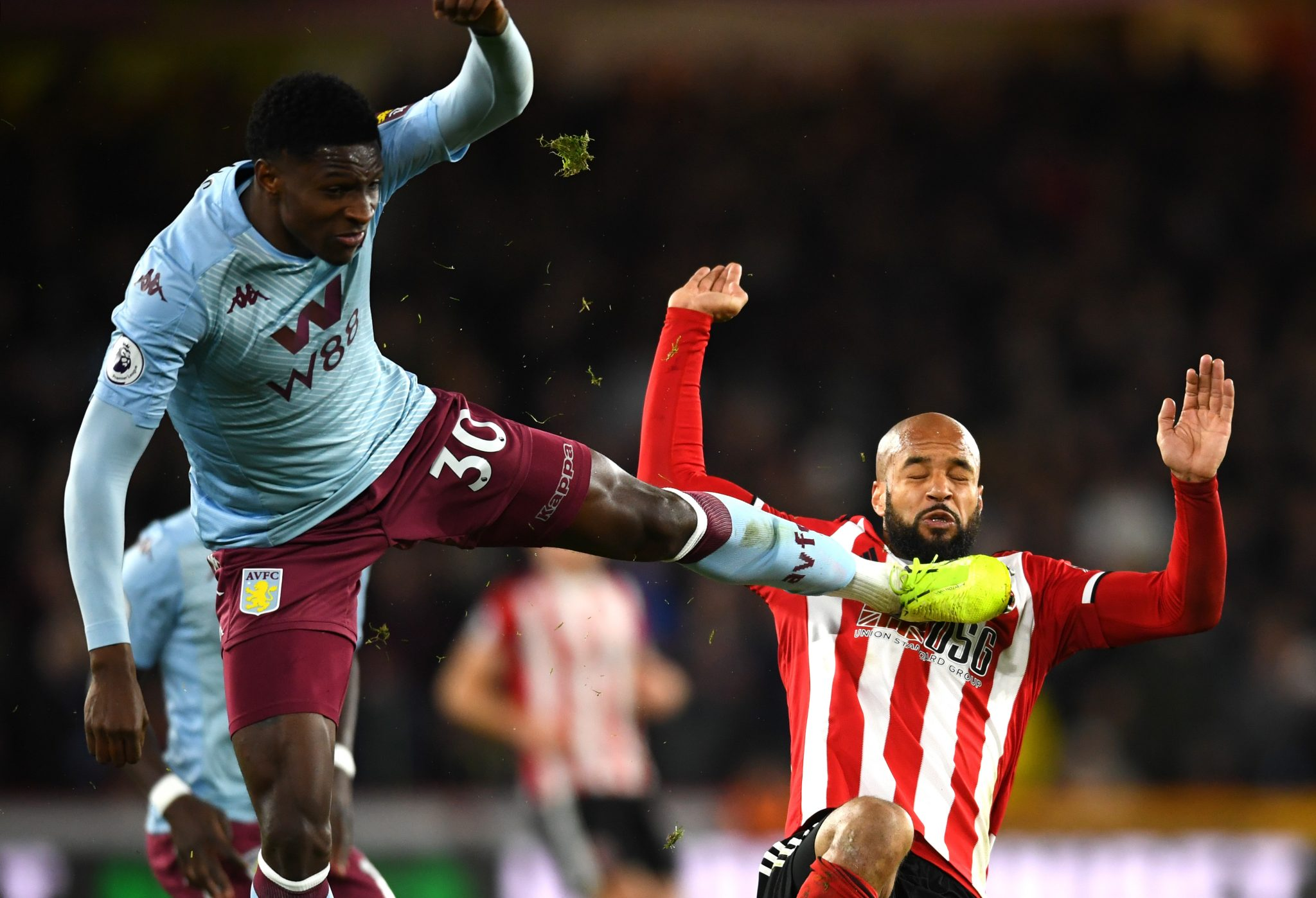 Aston Villa fall 2-0 to suave second-half from Sheffield