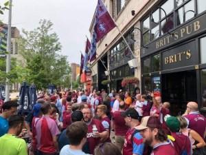 Villa-famous pub in US needs fan aid