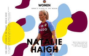 Our Women's Player of the Season: Natalie Haigh