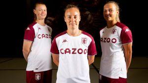 Aston Villa Women welcome six as rebuild continues