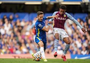 Aston Villa fall to European Champions Chelsea despite spirited first-half display