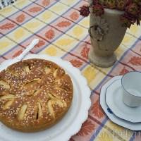 Äppelkaka med kardemumma och rutschkana!